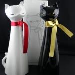 千代寿 月夜の眠り 白猫・黒猫ボトル