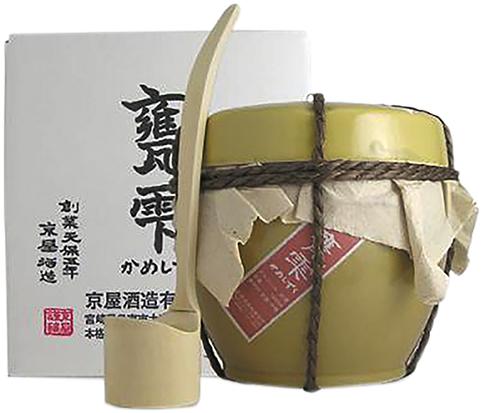 甕雫 芋焼酎 20度 京屋酒造