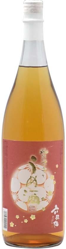 六歌仙 純米酒で造った梅酒
