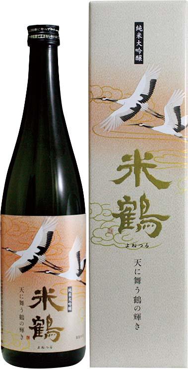 米鶴 天に舞う鶴の輝き 純米大吟醸《完売》