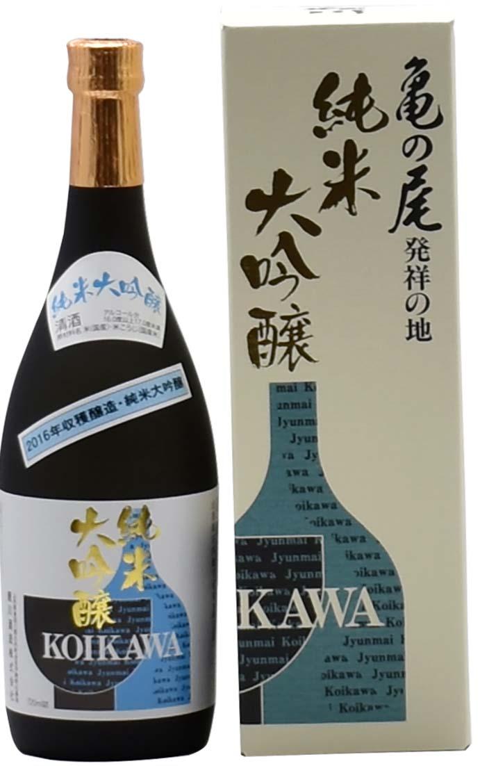 鯉川酒造 KOIKAWA 純米大吟醸 亀の尾100%