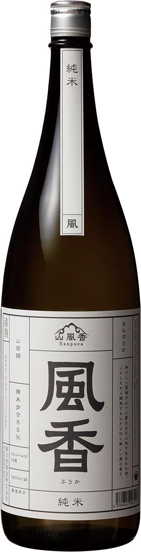 梅乃宿 風香 純米酒