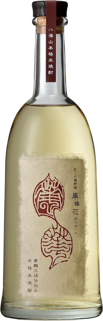 八海山 本格米焼酎 オーク樽貯蔵 風媒花