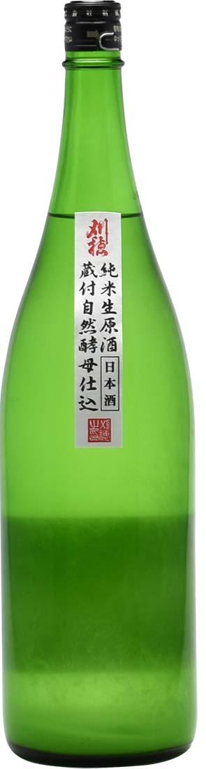 刈穂 蔵付酵母仕込みにごり生 純米生原酒 30BY