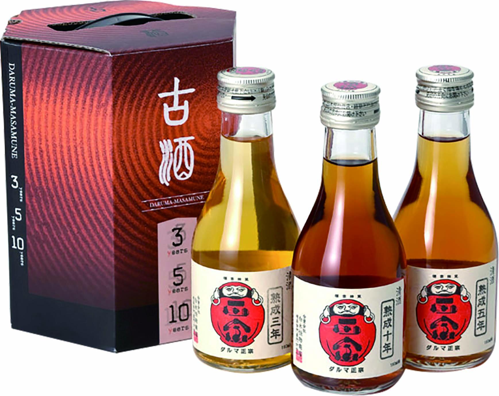 達磨正宗 飲みくらべ風セット 日本酒・熟成古酒