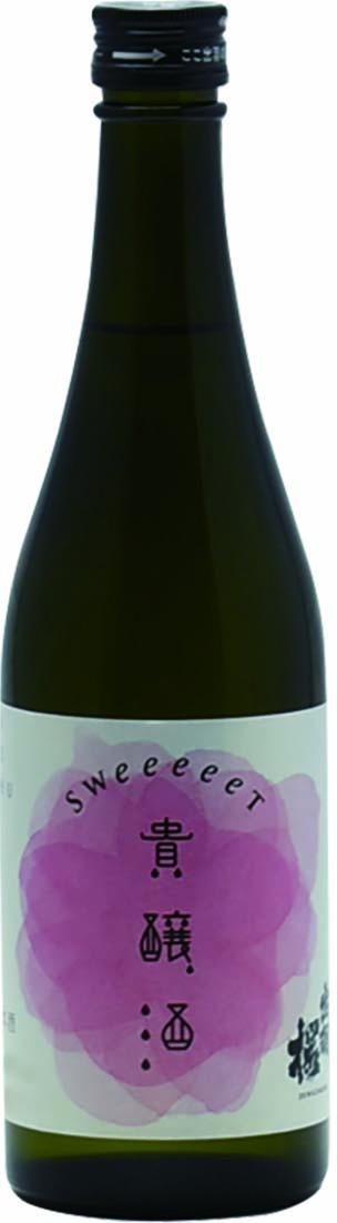 出羽桜 貴醸酒 SWeeeeeT(スウィート)500ml《完売》
