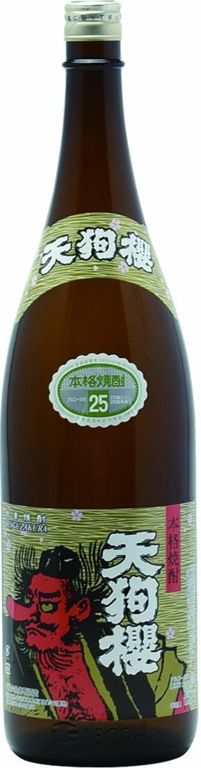 白石酒造 天狗櫻 芋焼酎25度