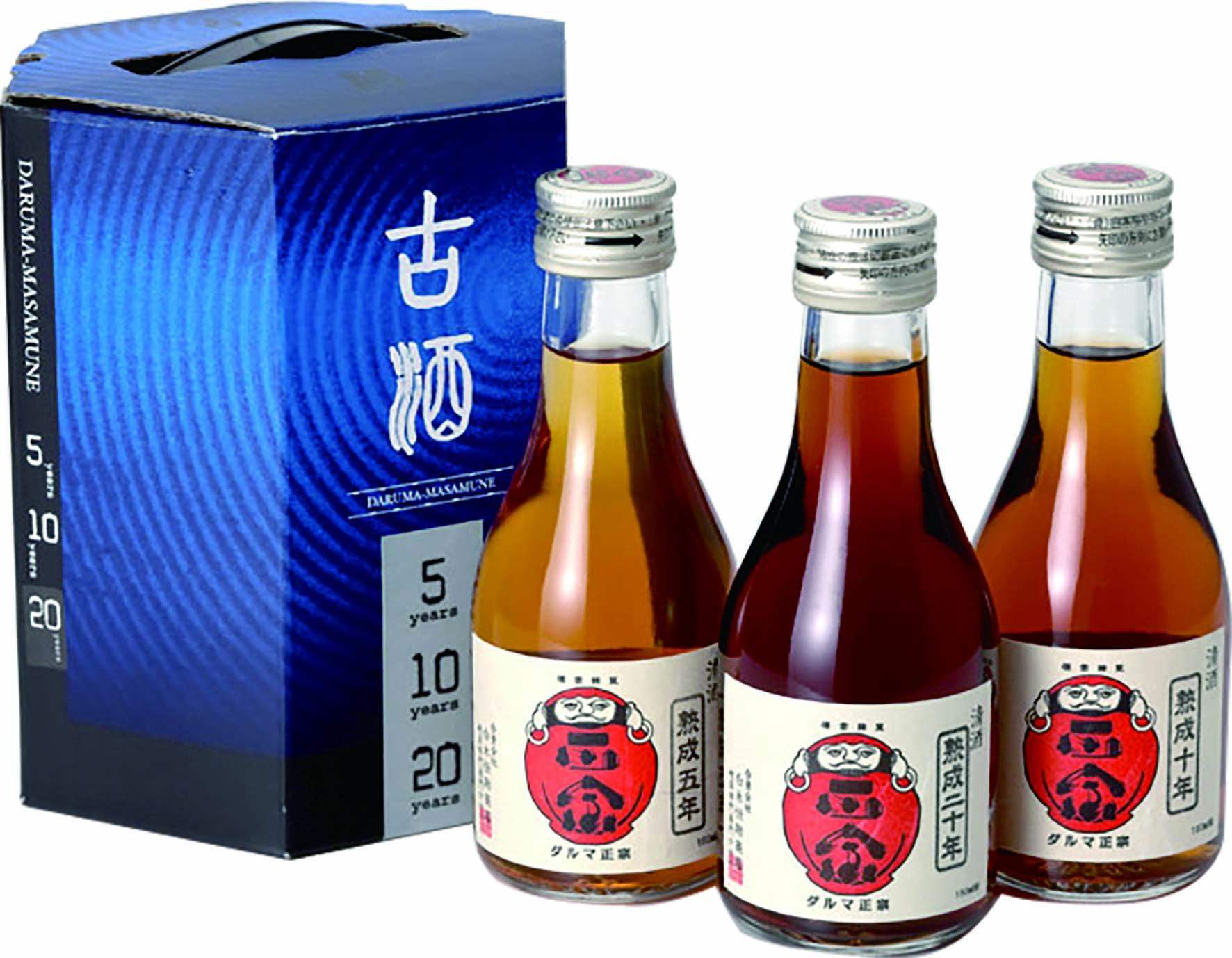 達磨正宗 飲みくらべ月セット 日本酒・熟成古酒