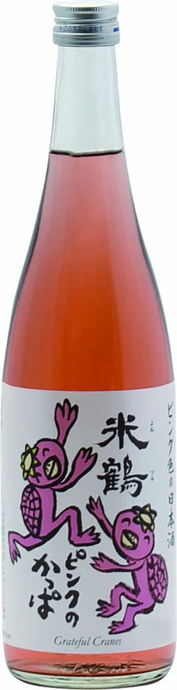 米鶴 ピンクのかっぱ 純米酒