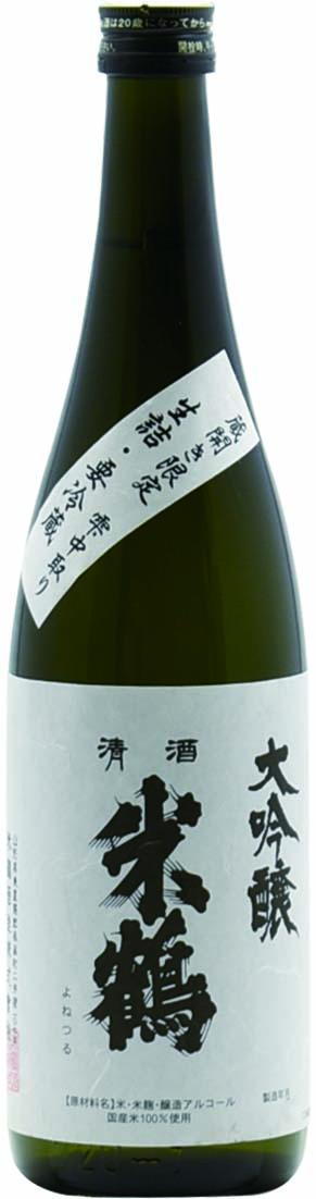 米鶴 蔵開き 大吟醸中取り雫酒