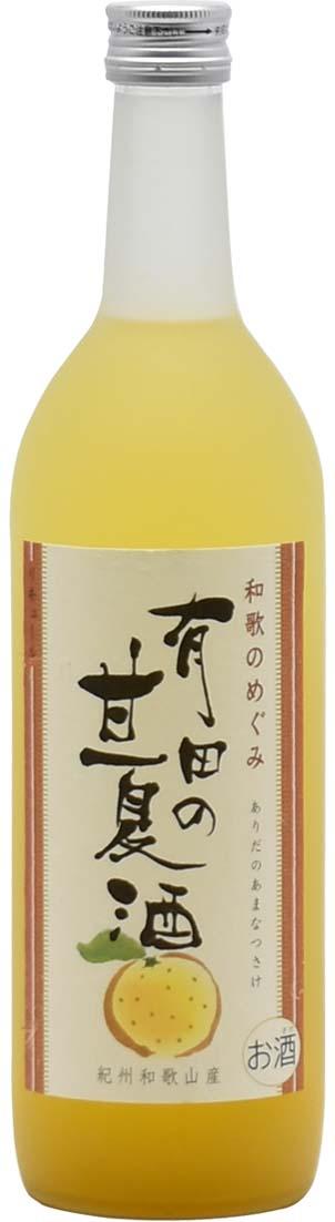 和歌のめぐみ 有田の甘夏酒