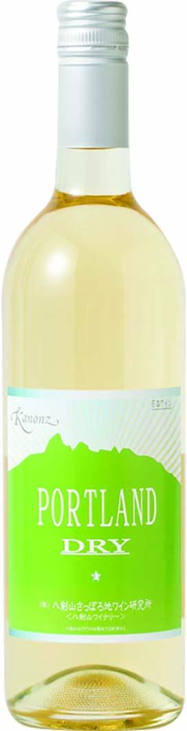 八剣山 カノンズ  ポートランドDRY 白ワイン
